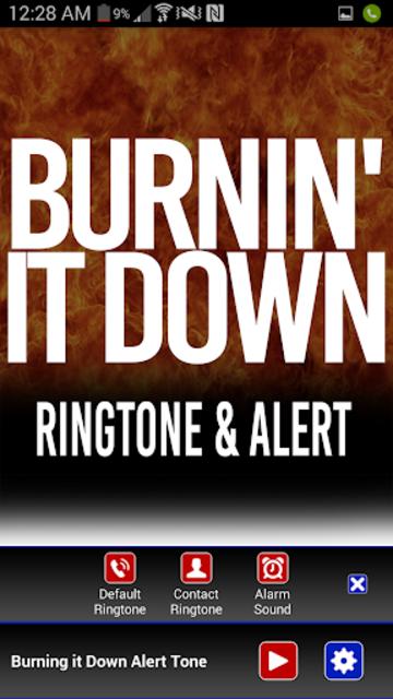 Burnin It Down Ringtone screenshot 2