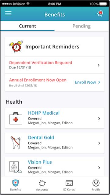 MyChoice Mobile screenshot 1