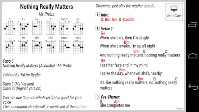 GuitarTapp ChordPro screenshot 8