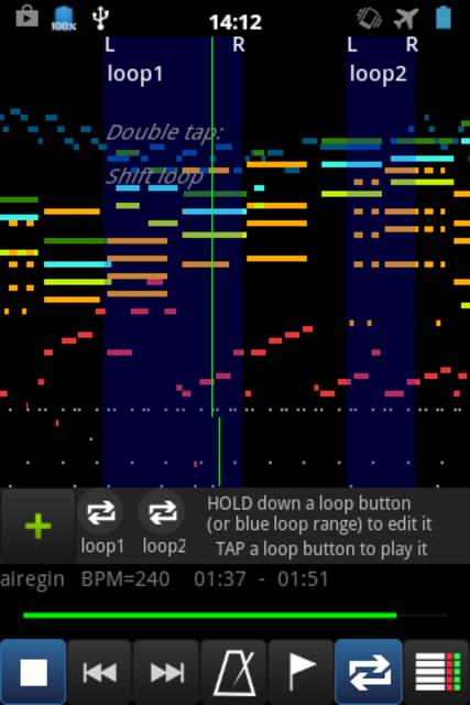 MIDI Voyager Pro screenshot 1