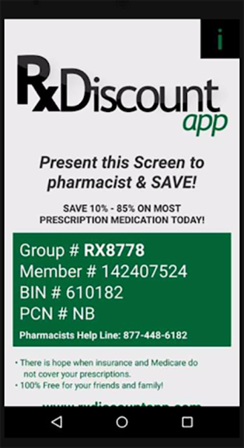 Prescription Drug Discounts - Rx Discount App screenshot 1