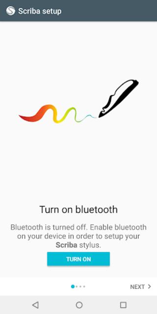 Scriba stylus driver for ArtFlow screenshot 1