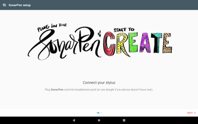 SonarPen stylus driver for ArtFlow screenshot 2
