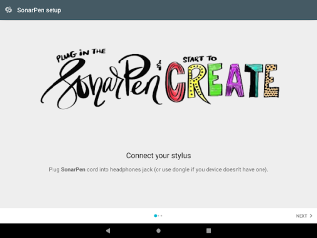 SonarPen stylus driver for ArtFlow screenshot 3