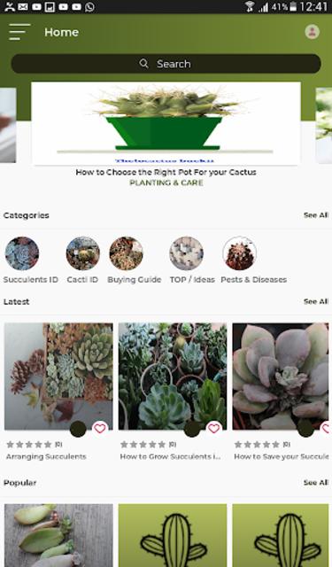 Cactus and Succulent Plants screenshot 1
