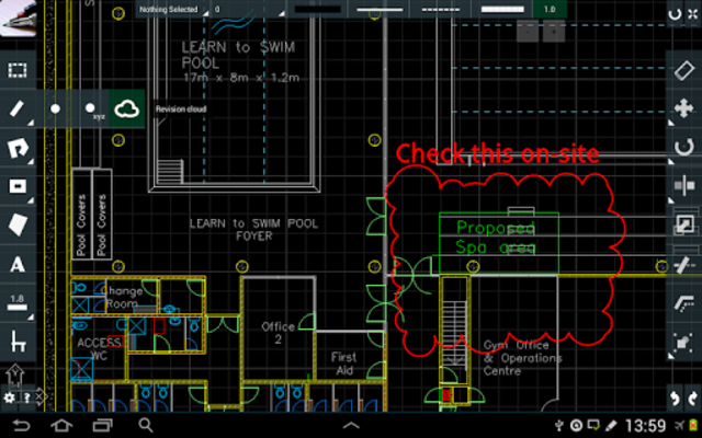 CAD Touch Free screenshot 1