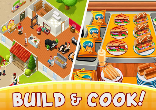 Cafe Fever - Food Restaurant & Cooking Games Girls screenshot 2