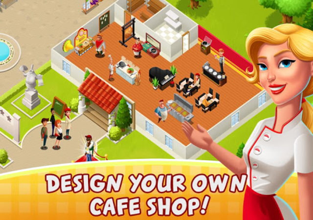 Cafe Fever - Food Restaurant & Cooking Games Girls screenshot 3