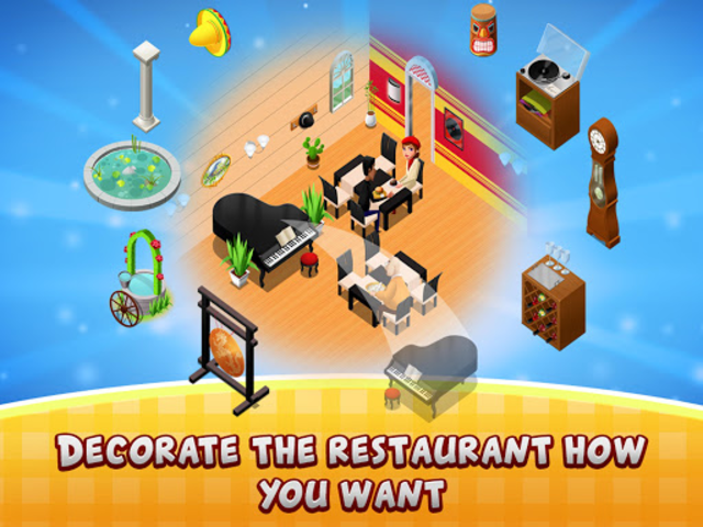 Cafe Fever - Food Restaurant & Cooking Games Girls screenshot 4
