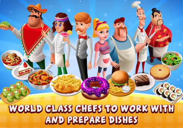 Cafe Fever - Food Restaurant & Cooking Games Girls screenshot 5