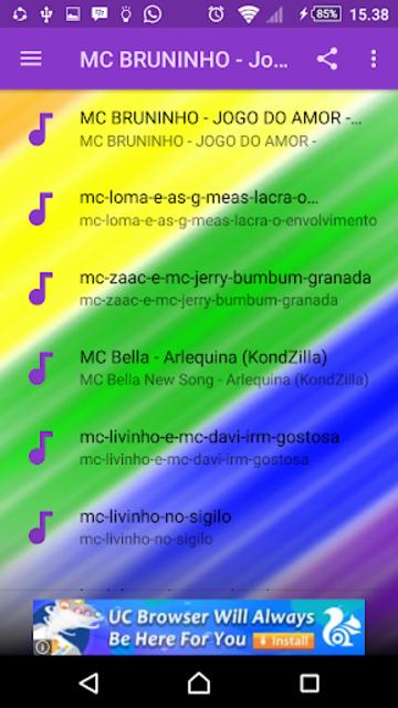 About: MC BRUNINHO - Jogo Do Amor Mp3 (Google Play version
