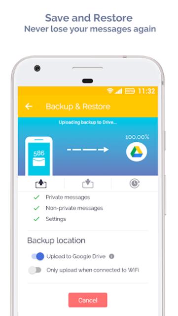 Mood Messenger - SMS & MMS screenshot 3