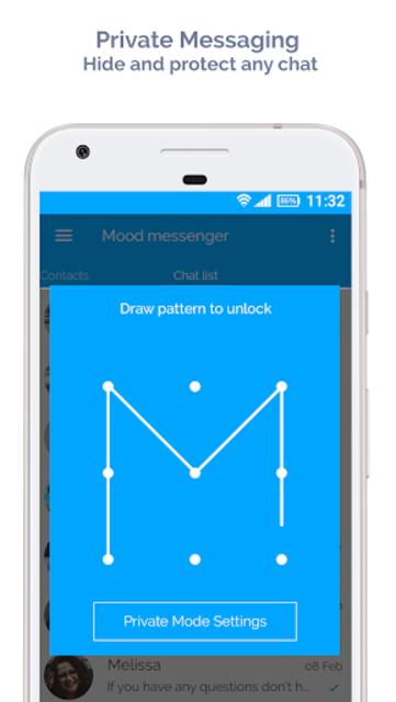 Mood Messenger - SMS & MMS screenshot 5
