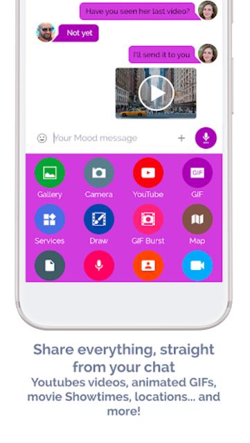 Mood Messenger - SMS & MMS screenshot 6
