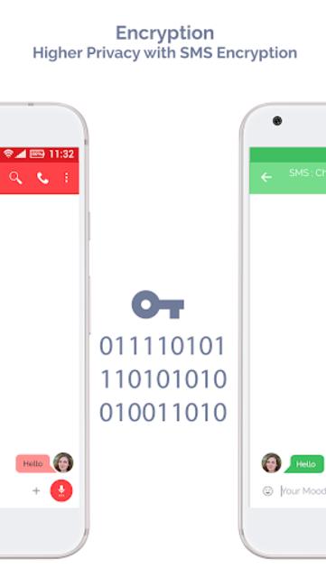 Mood Messenger - SMS & MMS screenshot 8
