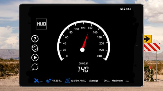GPS Speedometer : Odometer: Trip meter + GPS speed screenshot 10