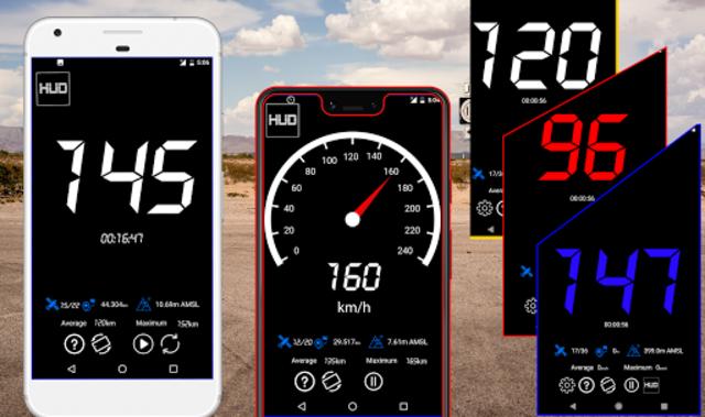 GPS Speedometer : Odometer: Trip meter + GPS speed screenshot 1