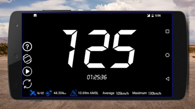 GPS Speedometer : Odometer: Trip meter + GPS speed screenshot 2