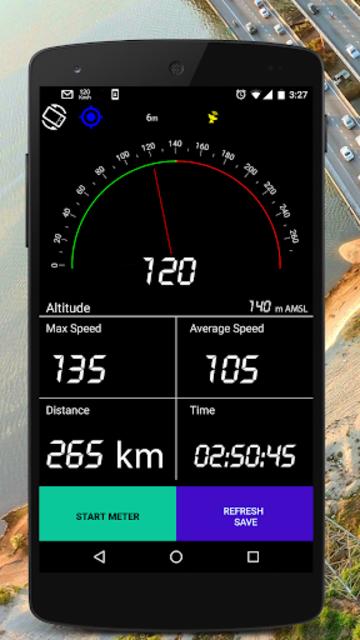 GPS Speedometer - Trip Meter -PRO (No Ads) screenshot 1