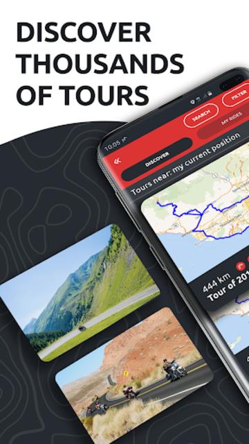 calimoto – Motorcycle Rides, Trip Planner & GPS screenshot 2