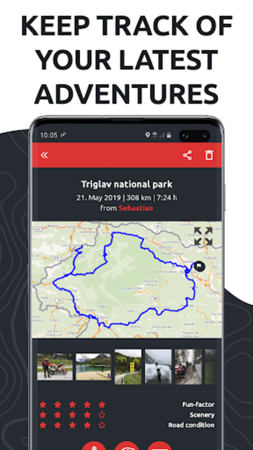 calimoto – Motorcycle Rides, Trip Planner & GPS screenshot 7
