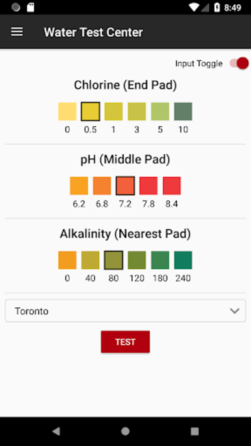 Spa Water Test by Canadian Spa Company screenshot 1