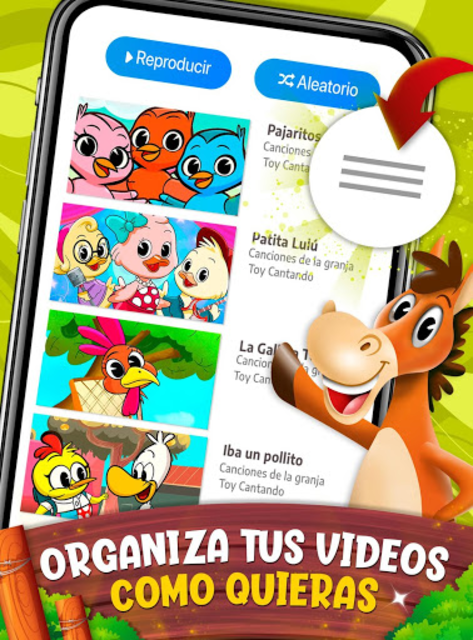 Animals songs, videos and Farm - Toy Cantando screenshot 2