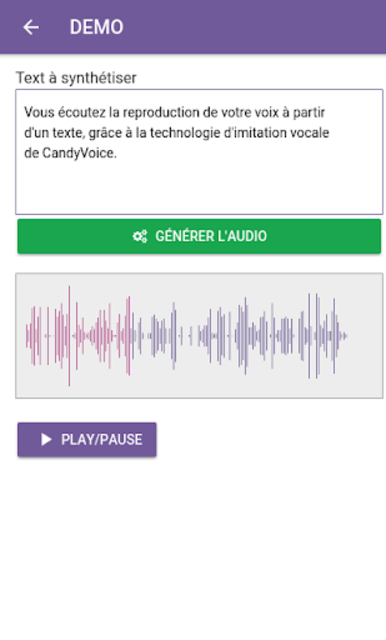 CandyVoice App screenshot 3