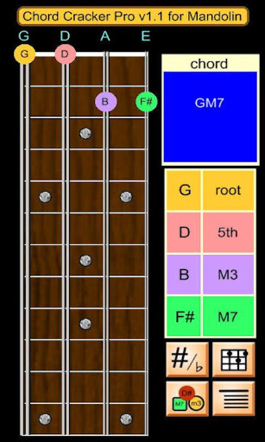 Mandolin Chord Cracker Pro screenshot 1