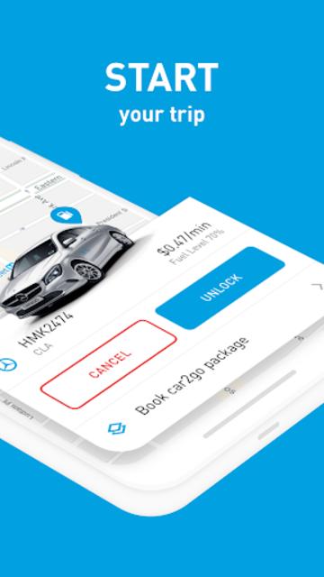 car2go screenshot 3