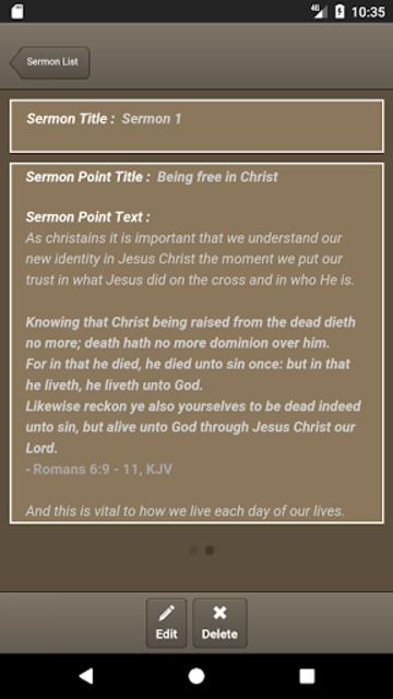 Caranba Sermon Notes screenshot 1