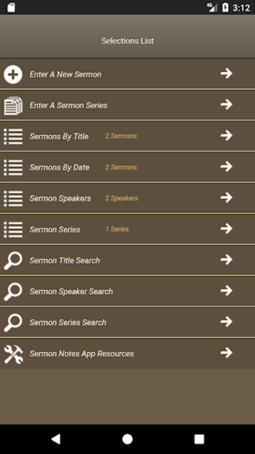 Caranba Sermon Notes screenshot 3