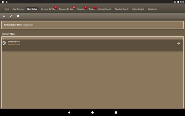 Caranba Sermon Notes screenshot 12