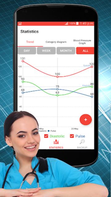 Blood Pressure Check : BP Logger : BP Tracker App screenshot 3