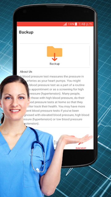 Blood Pressure Check : BP Logger : BP Tracker App screenshot 12