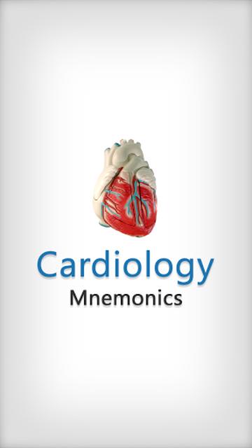 Cardiology Mnemonics screenshot 1