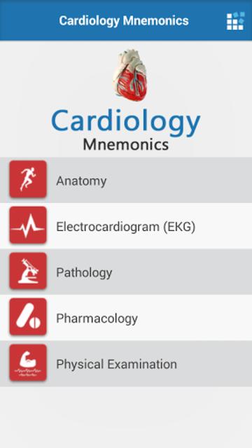 Cardiology Mnemonics screenshot 2