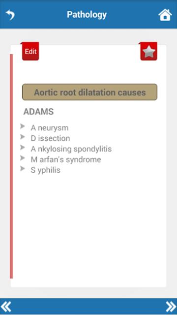 Cardiology Mnemonics screenshot 5