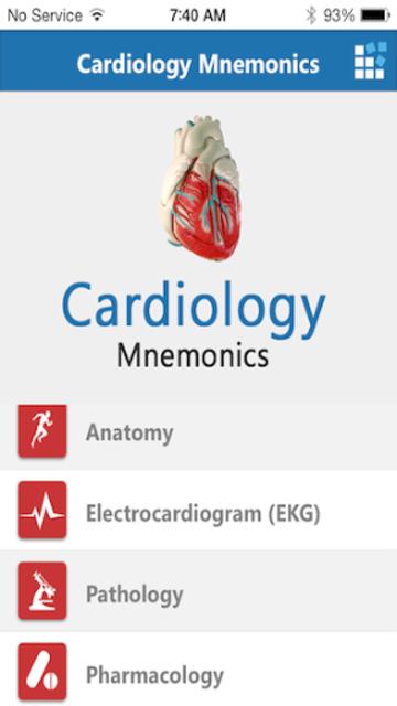 Cardiology Mnemonics screenshot 8