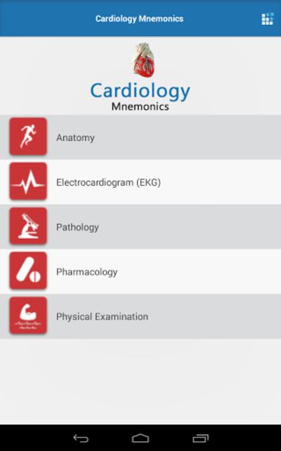 Cardiology Mnemonics screenshot 13