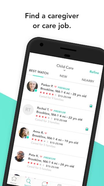 Care.com: Find Babysitters & Caregivers screenshot 1