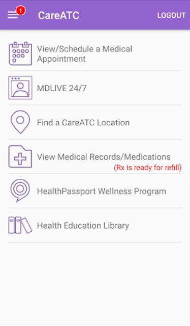CareATC screenshot 4