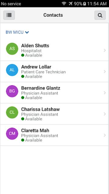 CareAware Connect Messenger screenshot 1