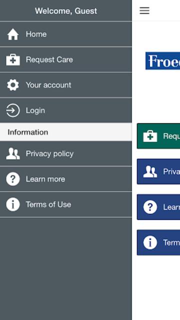 Froedtert Virtual Clinic screenshot 3