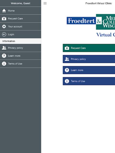 Froedtert Virtual Clinic screenshot 8