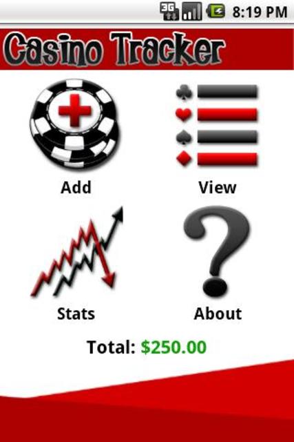 Casino Tracker screenshot 1