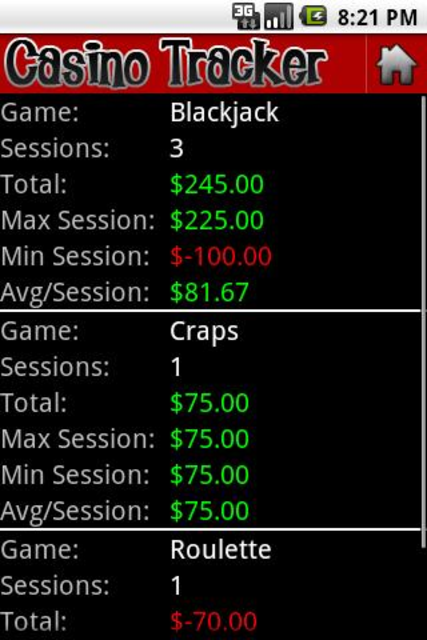 Casino Tracker screenshot 4