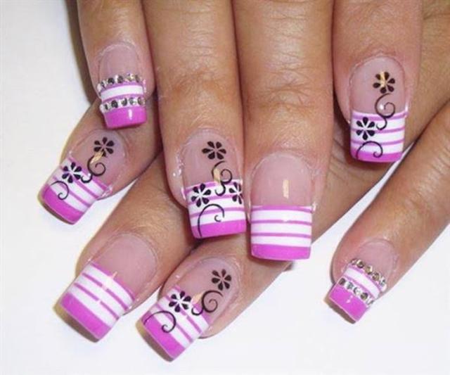 About Uñas Decoradas Con Flores Diseños Uñas Con Flores
