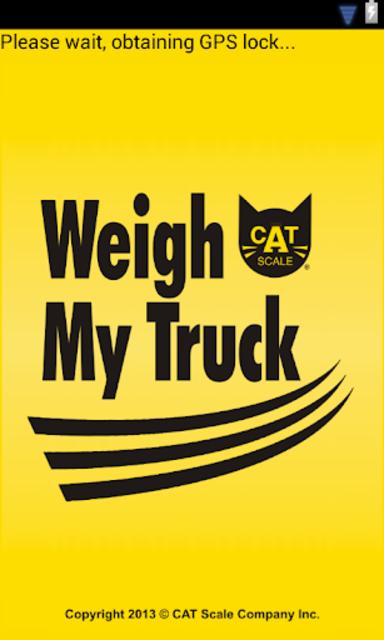 Weigh My Truck screenshot 1