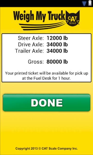 Weigh My Truck screenshot 4